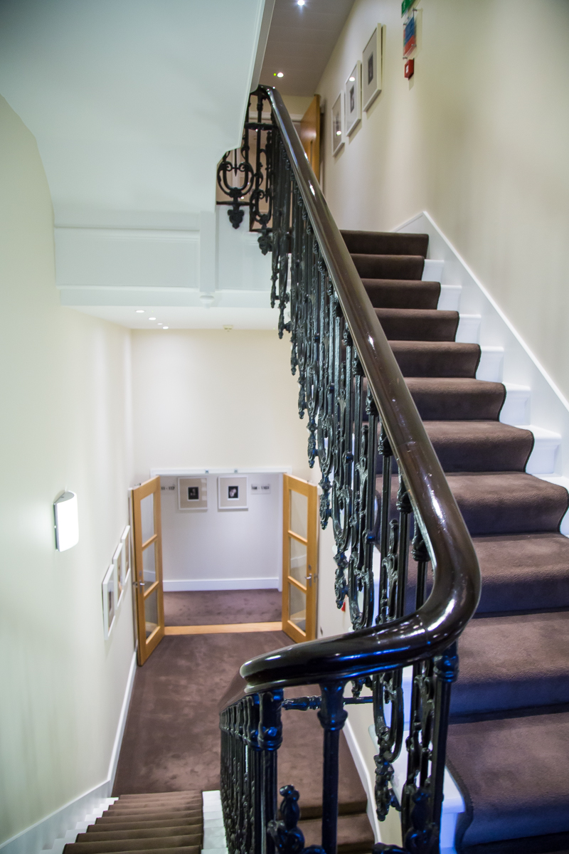 Nadler Kensington stairs rooms hall