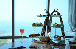 Enjoy High Tea on the Top of the World