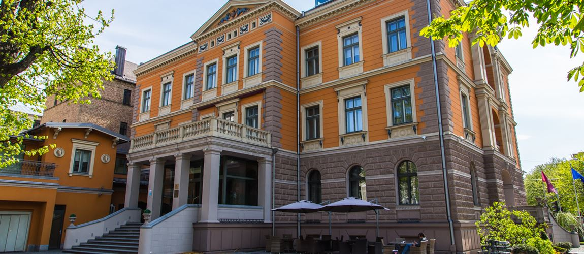 Luxury hotel near Valdemara street
