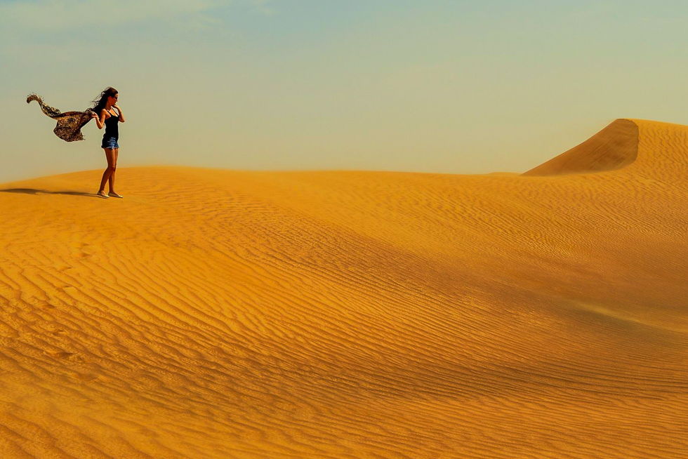 Adventures in Dubai desert