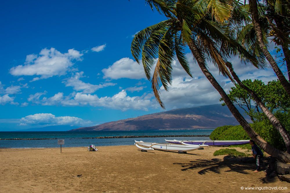 Lahaina beach resort - the most beautiful place on Maui island