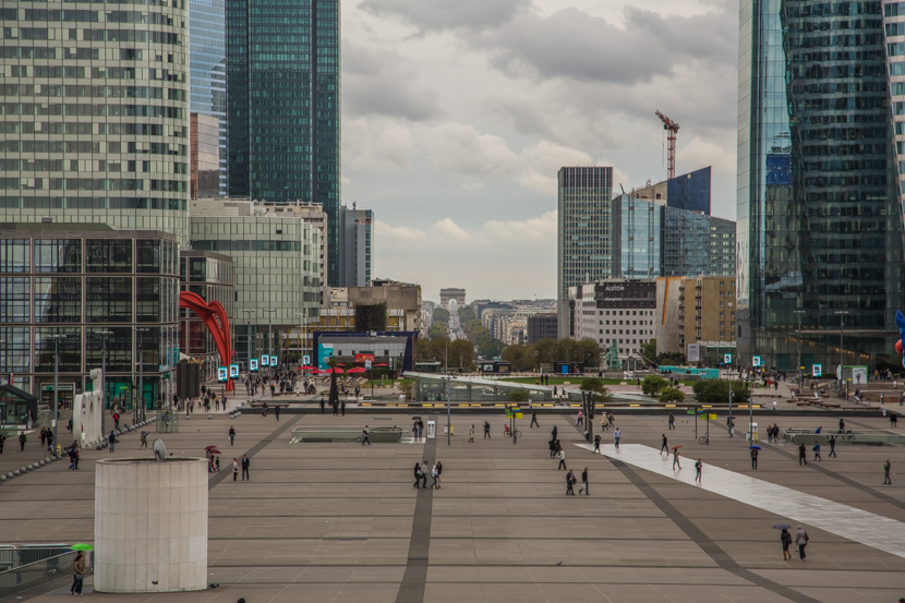 La Défense - major business district in Paris