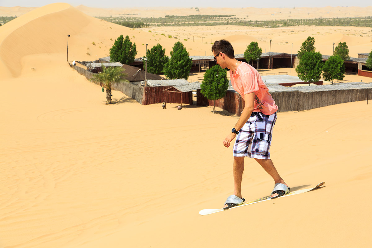 Sand boarding experience
