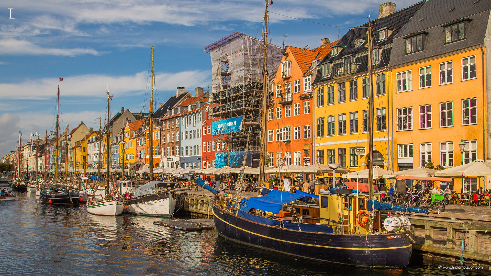 Download nyhavn view 1920x1080 - Copenhagen wallpaper ...