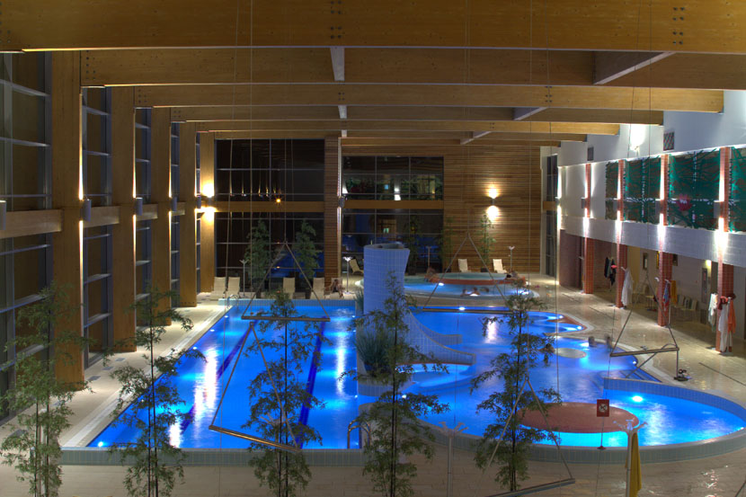 SPA complex with mineral water