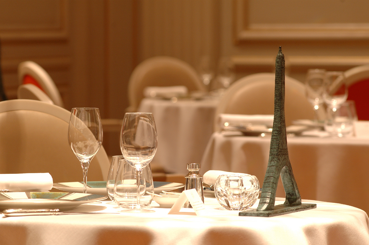 Michelin star restaurant in Paris