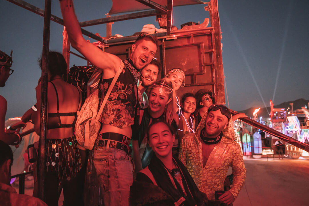 Who comes to Burning Man