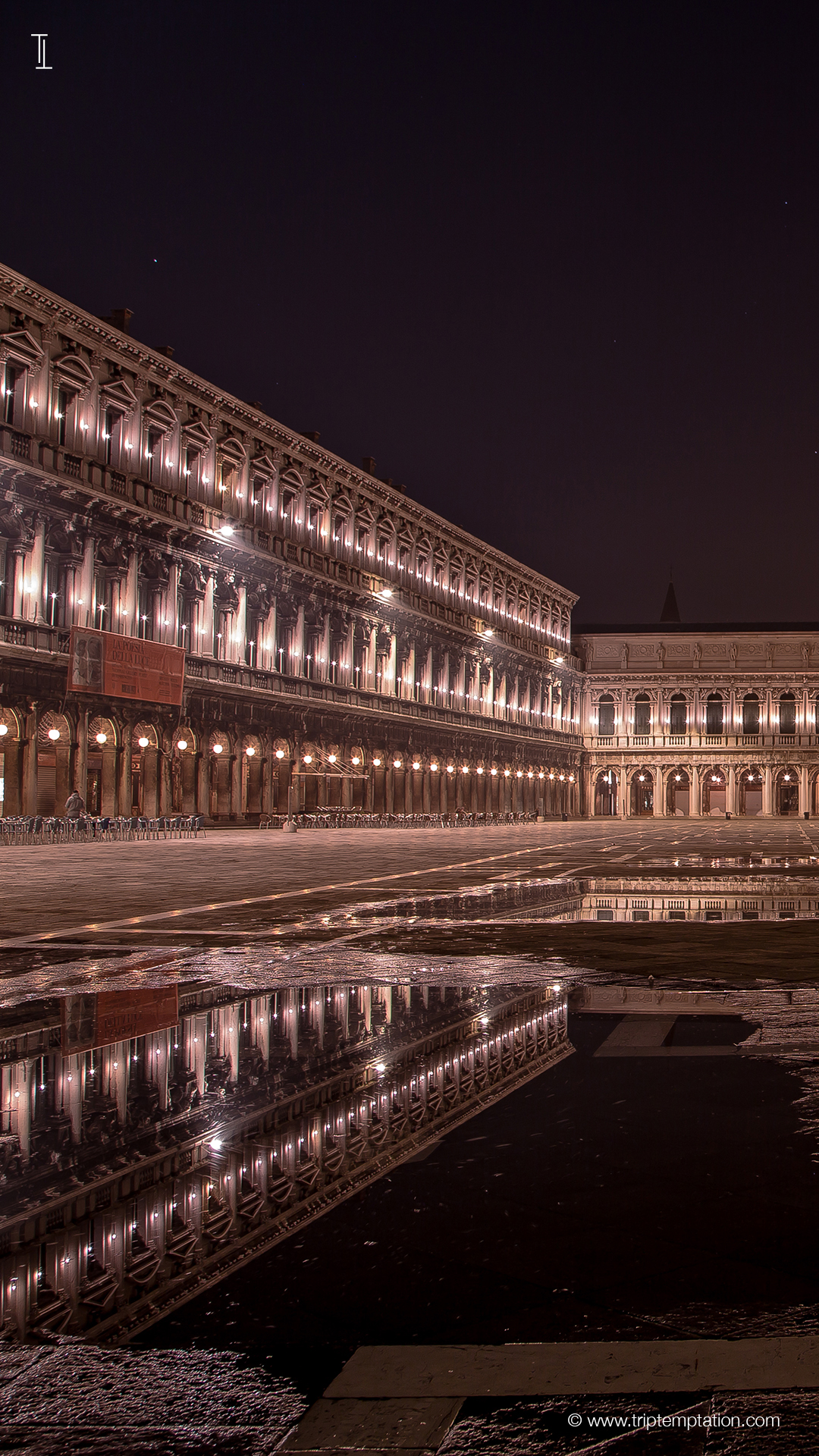 Download St Mark S Square At Night Iphone 6 Plus