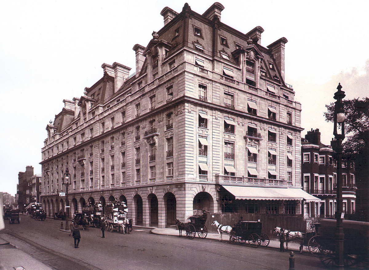 Long history of The Ritz London