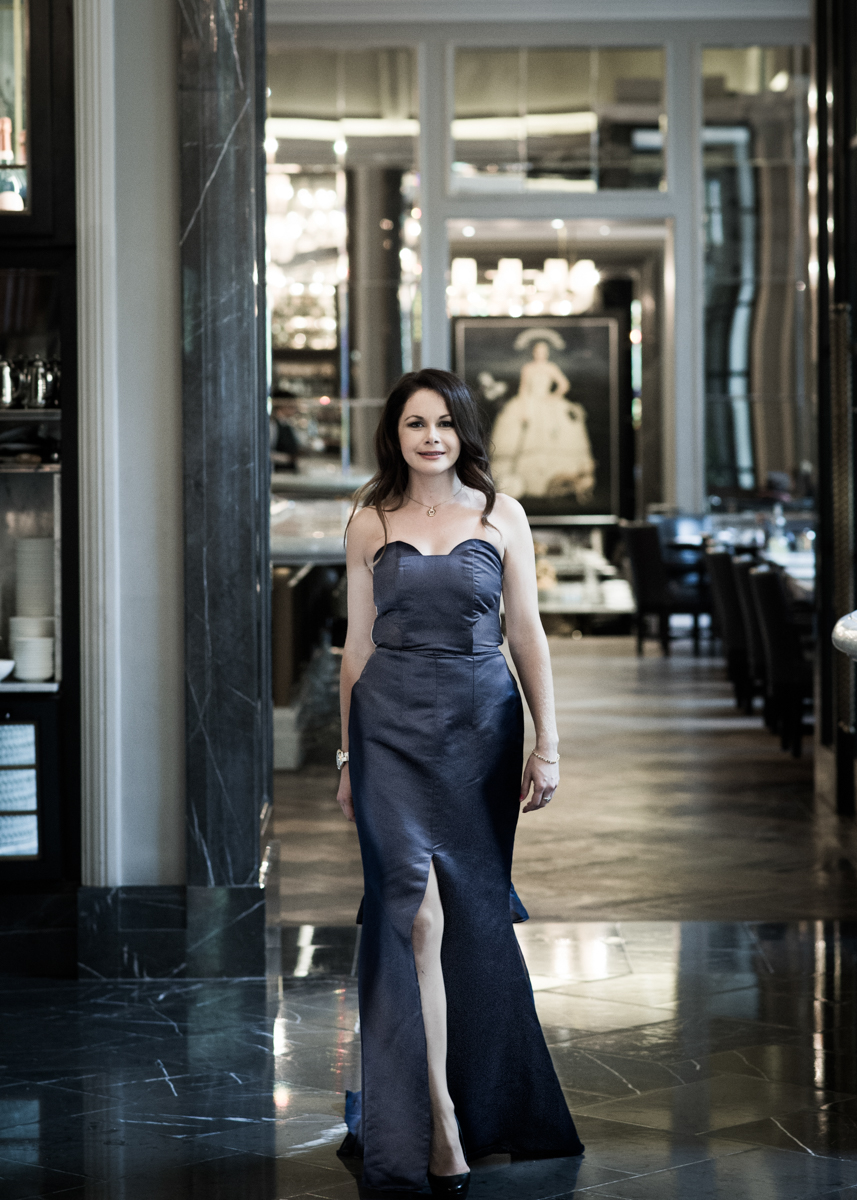 Tina Lobondi latest collection in Corinthia Hotel London