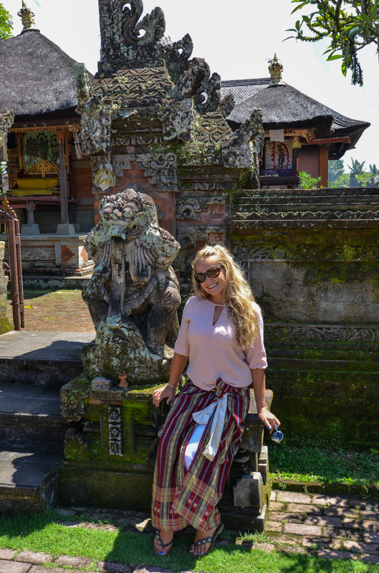 where to see temples in Bali
