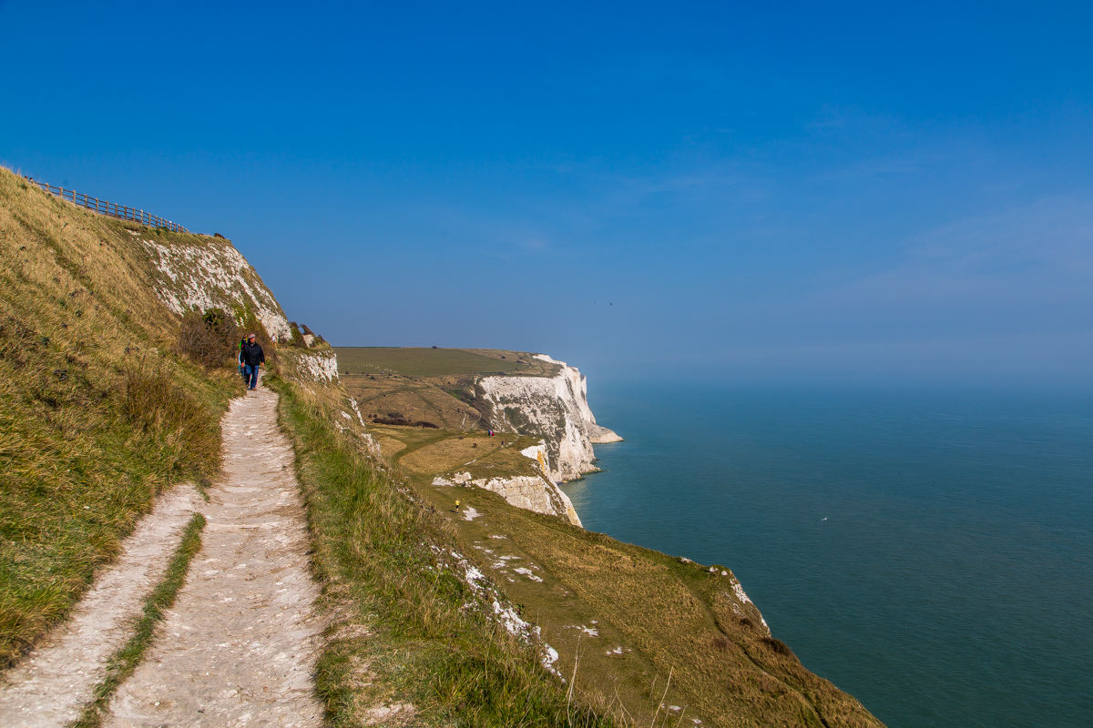 Path along the Dover Cliffs