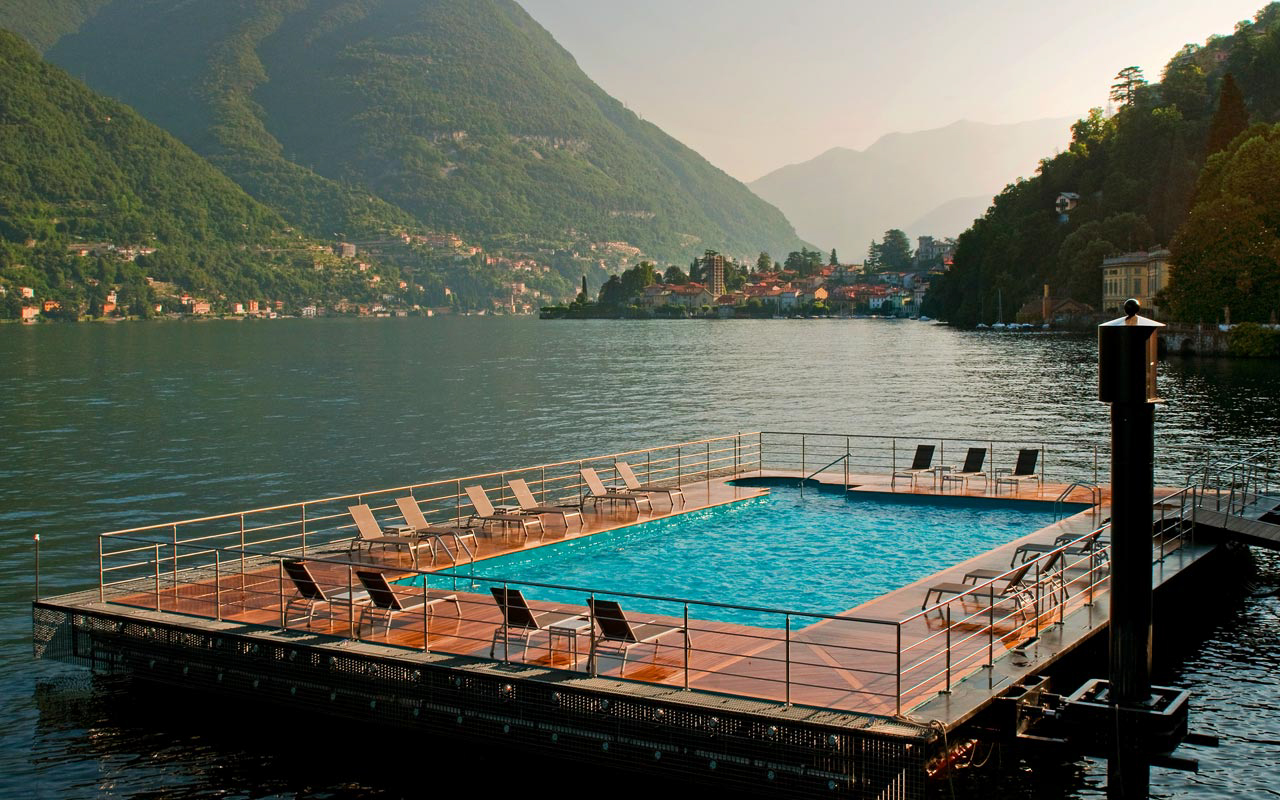 Collection of the best italian luxury hotels - Casta diva lake como italy ...