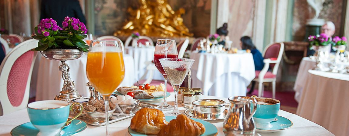 A delicious breakfast in Ritz London