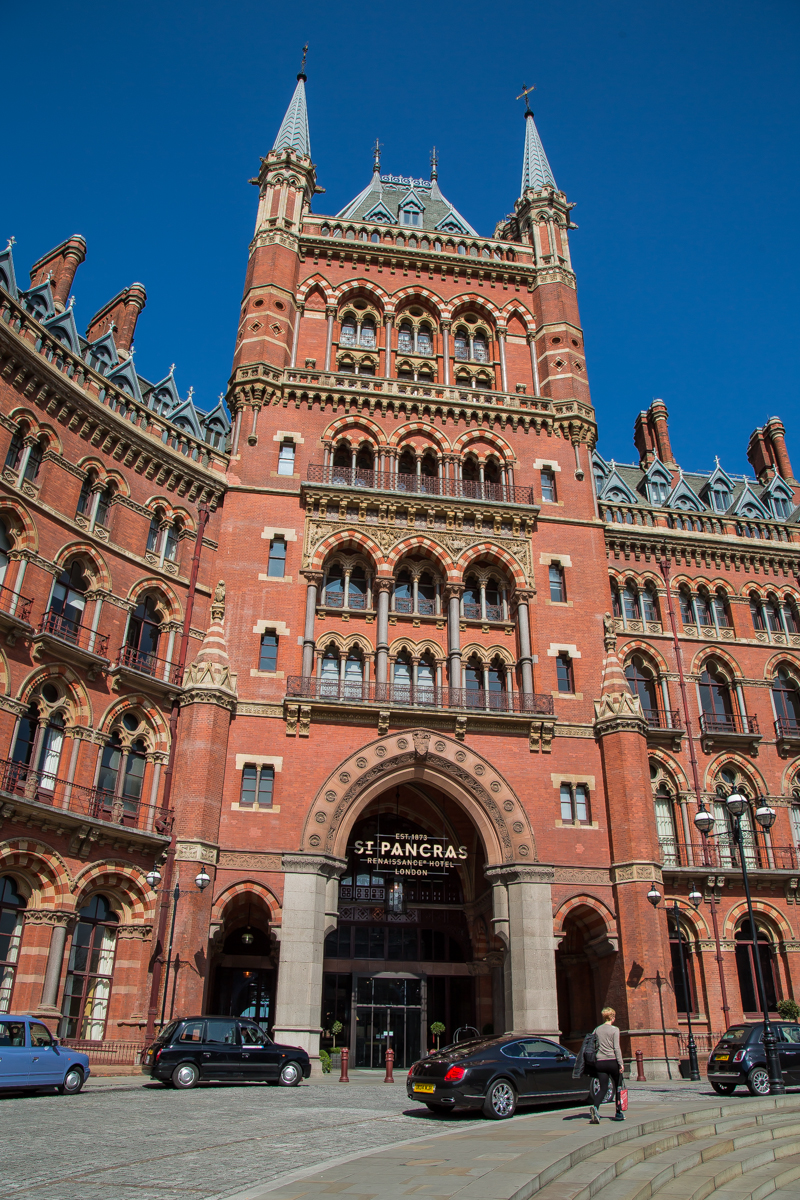 London St Pancras Railway Station