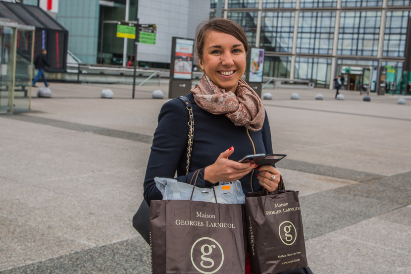 Shopping in Paris in La Defense