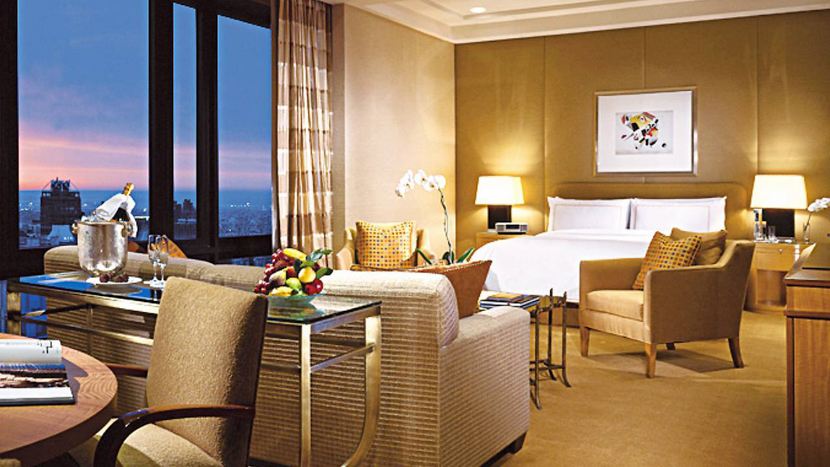 Four Seasons hotel luxury suite