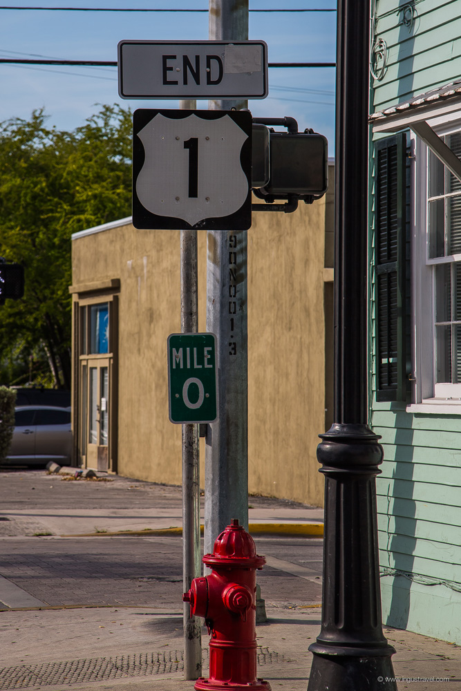 0 miles highway in Key west