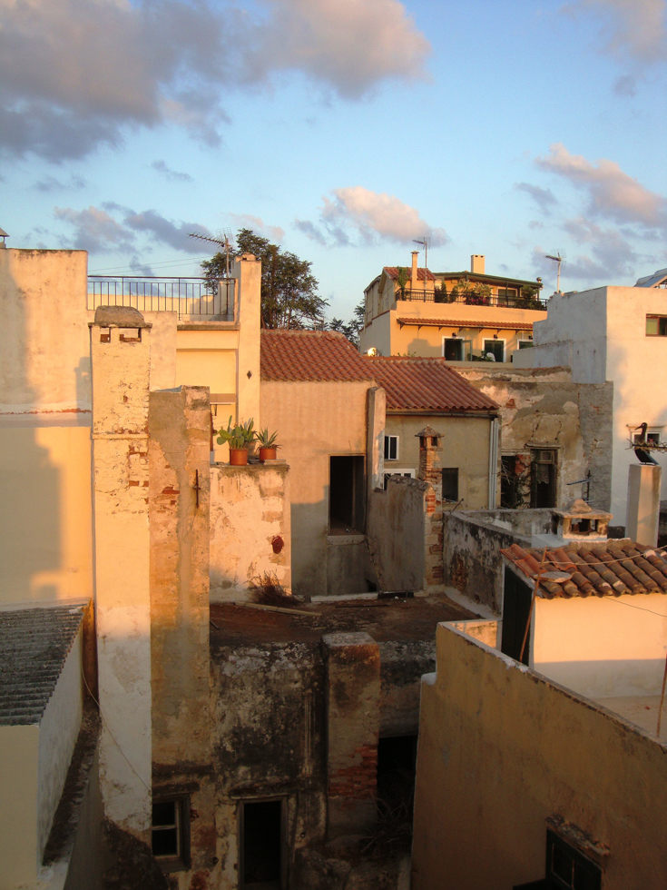 Exploring Backyards Chania towns Crete