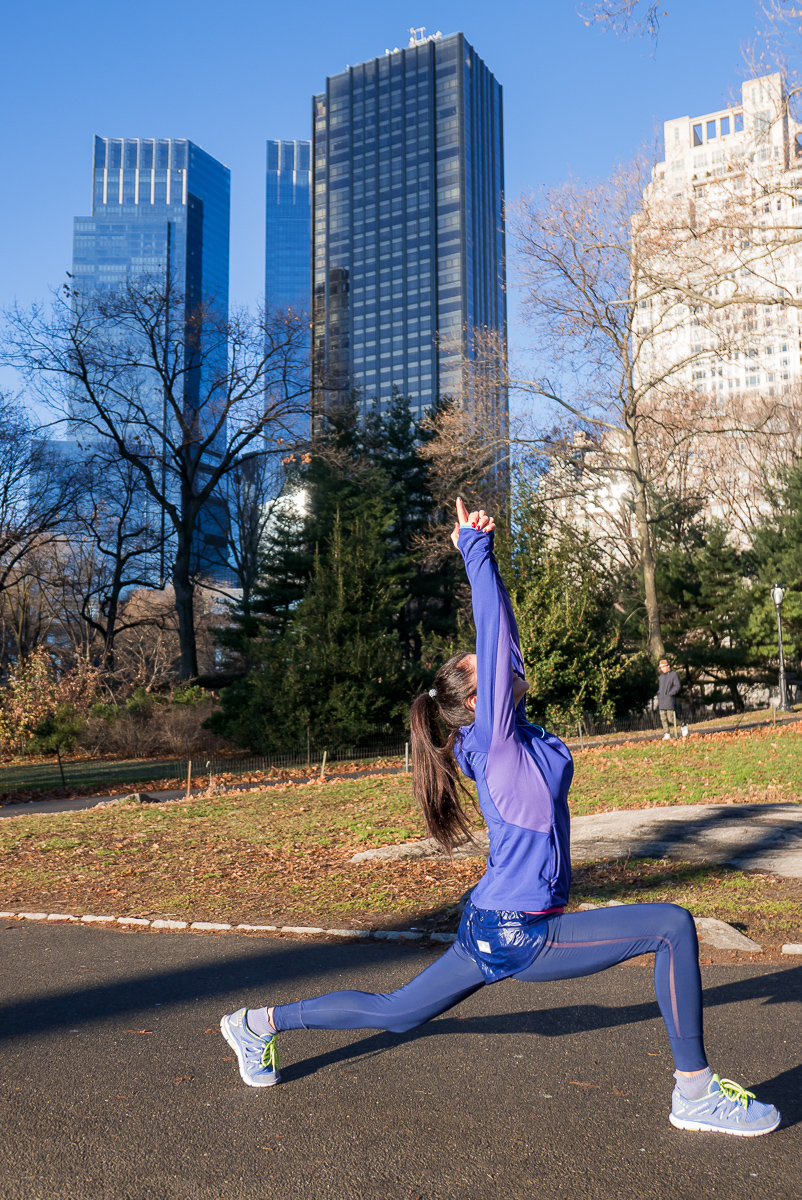 Workout at Central Park