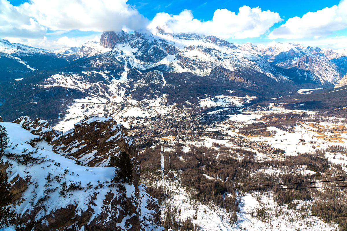 Breathtaking view of Alta Badia