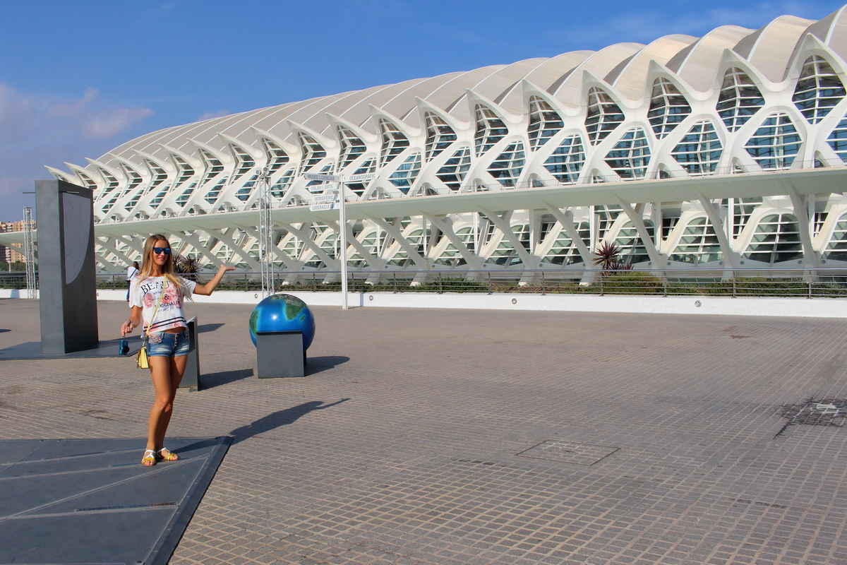 going further away from Benidorm - visiting Valencia