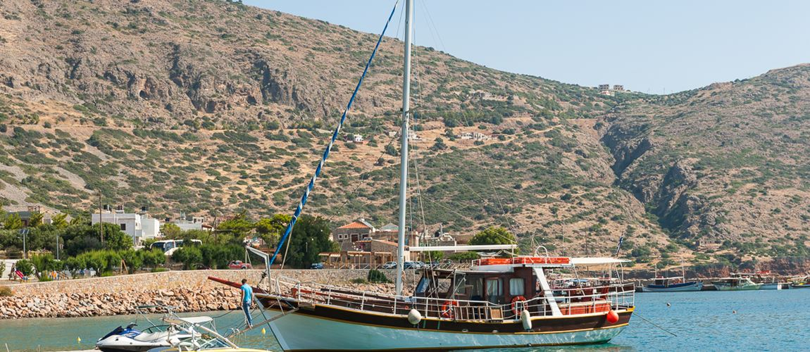 Trip to Spinalonga from Blue Palace