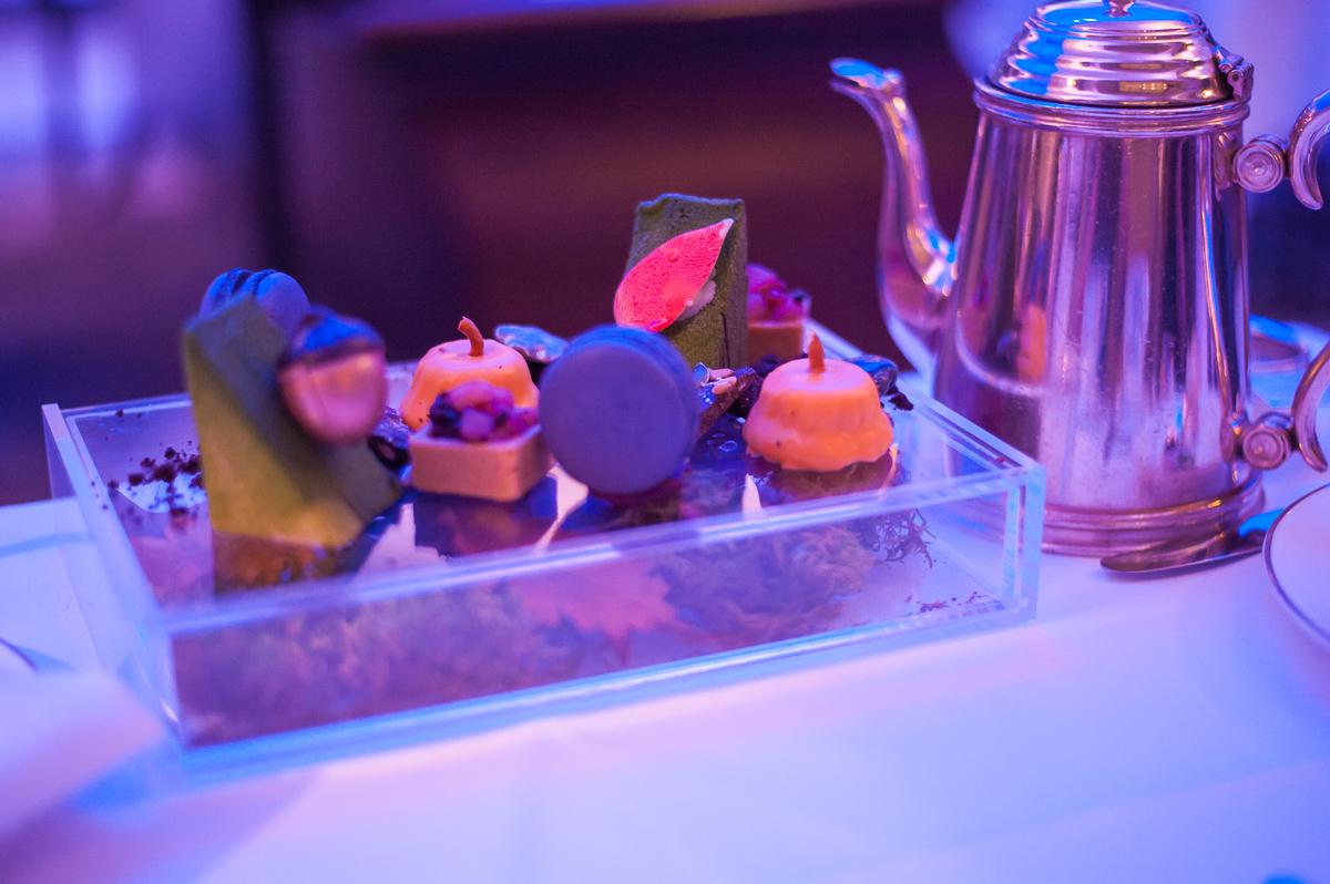 Fantastic desserts in afternoon tea