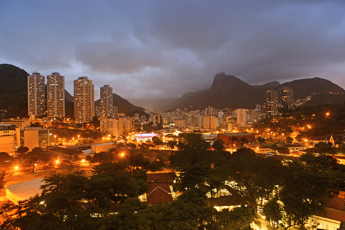 panoramic view of Brazil, Rio