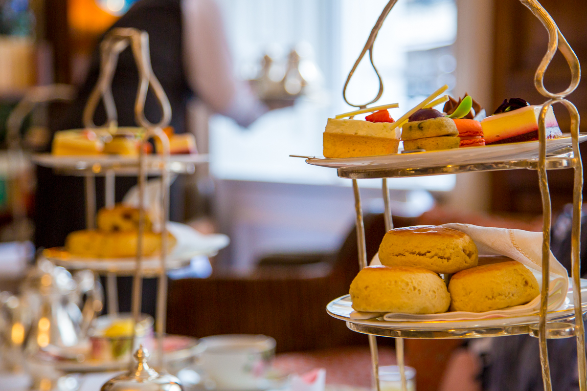 Afternoon tea pastery