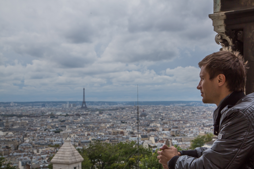 Best place to watch Paris from above