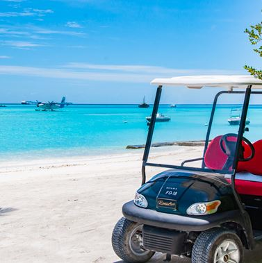 Cart in Maldives