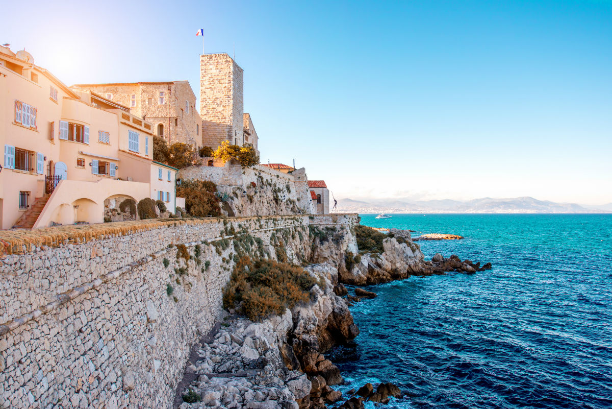 Coastal village Antibes