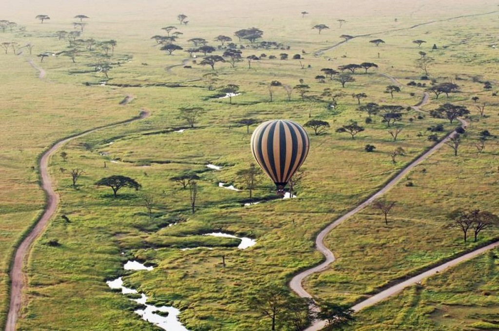 Unforgettable balloon travel  in Tanzania
