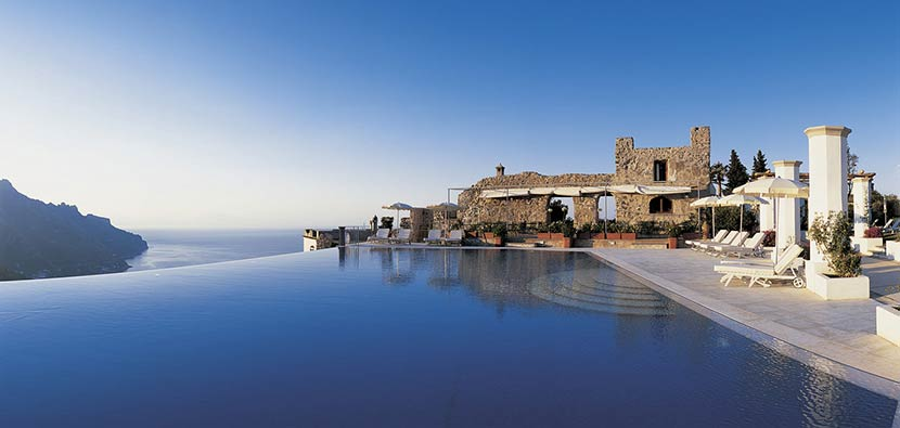Collection of the best italian luxury hotels for Hotels in ravello with swimming pool