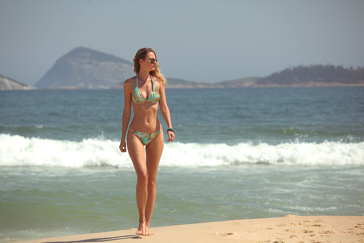 Brazilian bikini for the day at Copacabana Beach