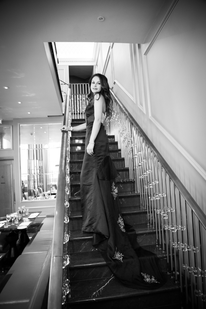 Fashion shoot in Corinthia Hotel London