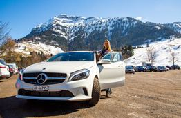 The Road from Switzerland to Liechtenstein in Style