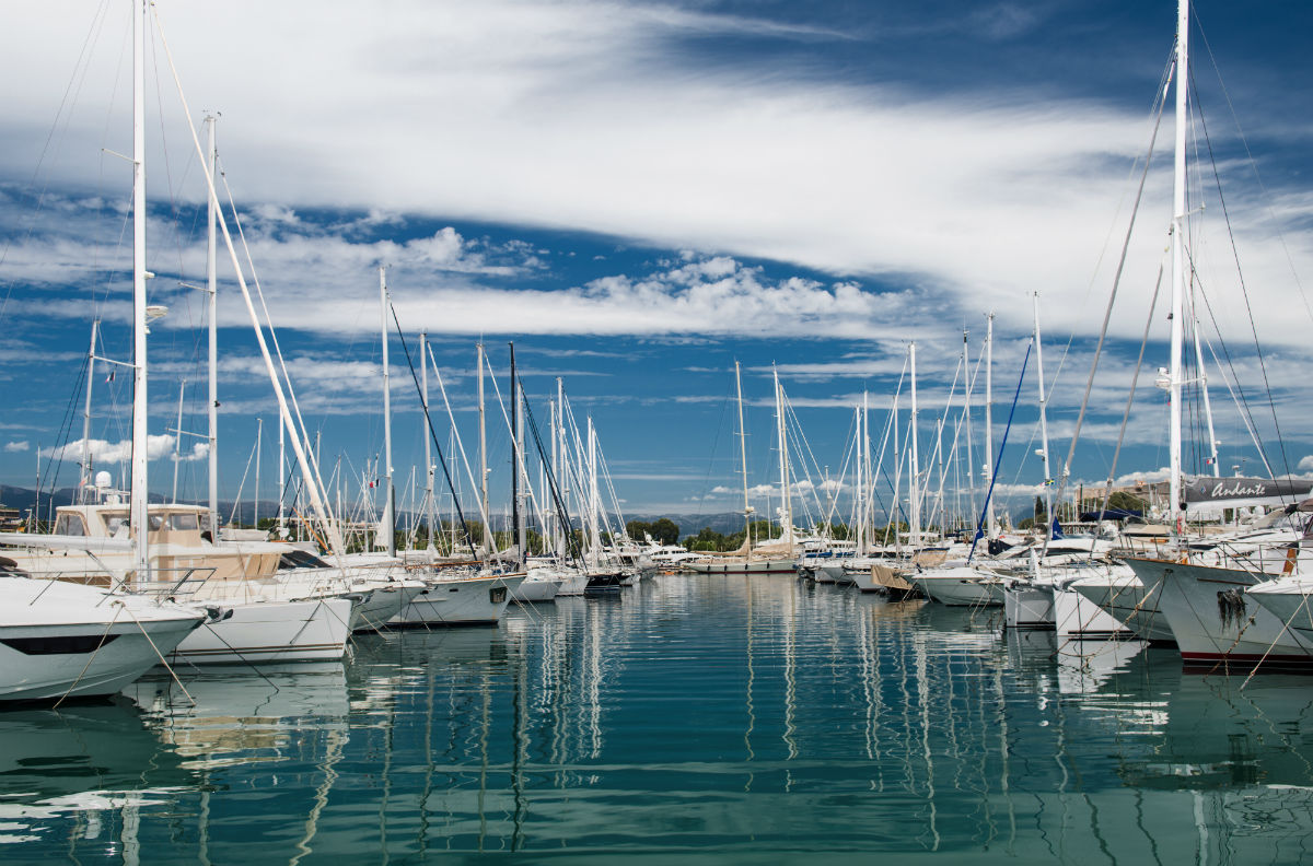 Marina on the Azure Coast