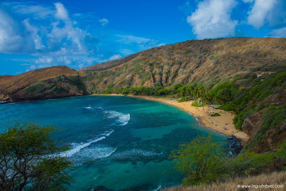 Hawaii island Hanuma bay