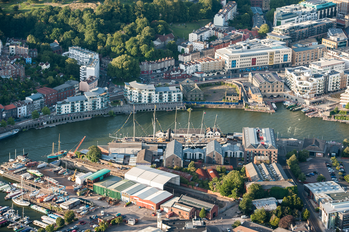 Amazing view of Bristol
