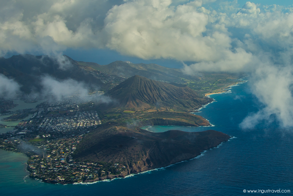 Oahu island in Hawaii
