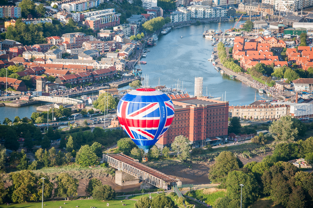 Amazing flight in Bristol