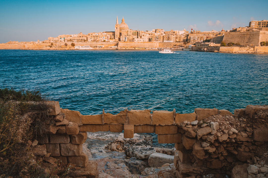 Fort Manoel on the Manoel Island