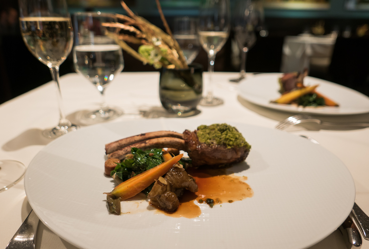 Australian rack of lamb