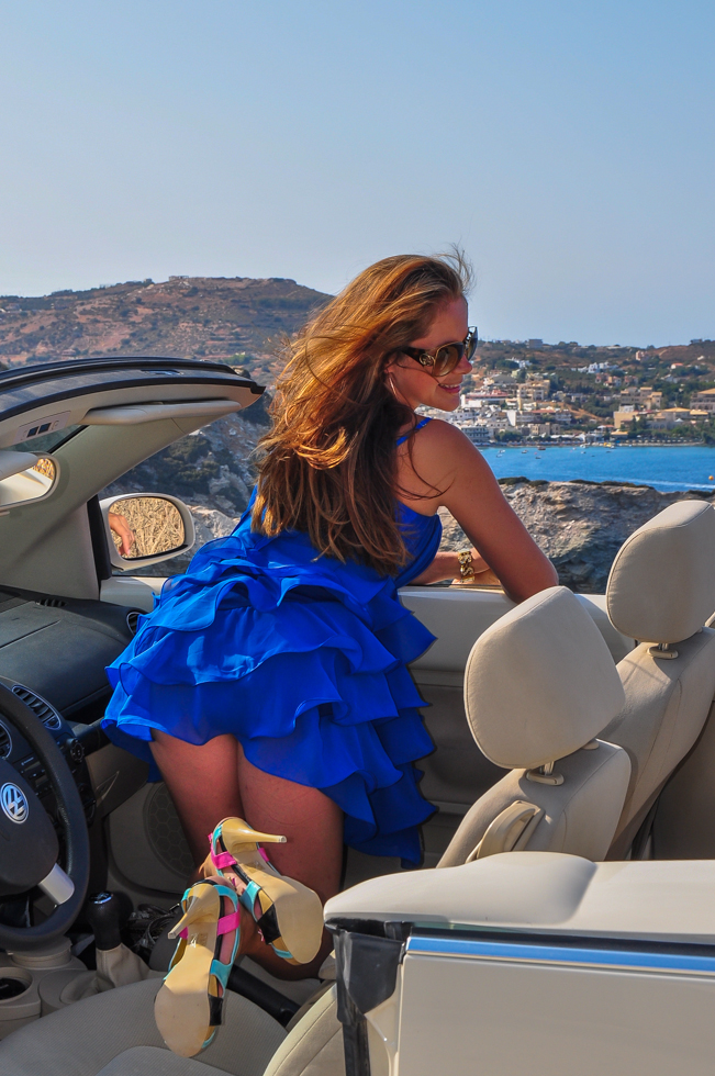 Car Journey Through Crete
