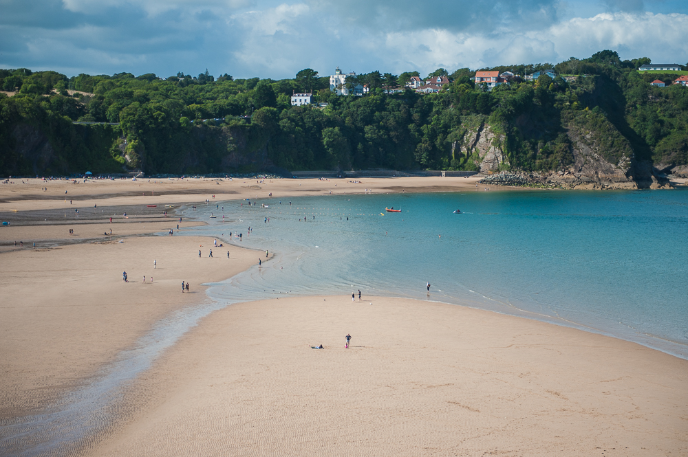 One more Tenby beach