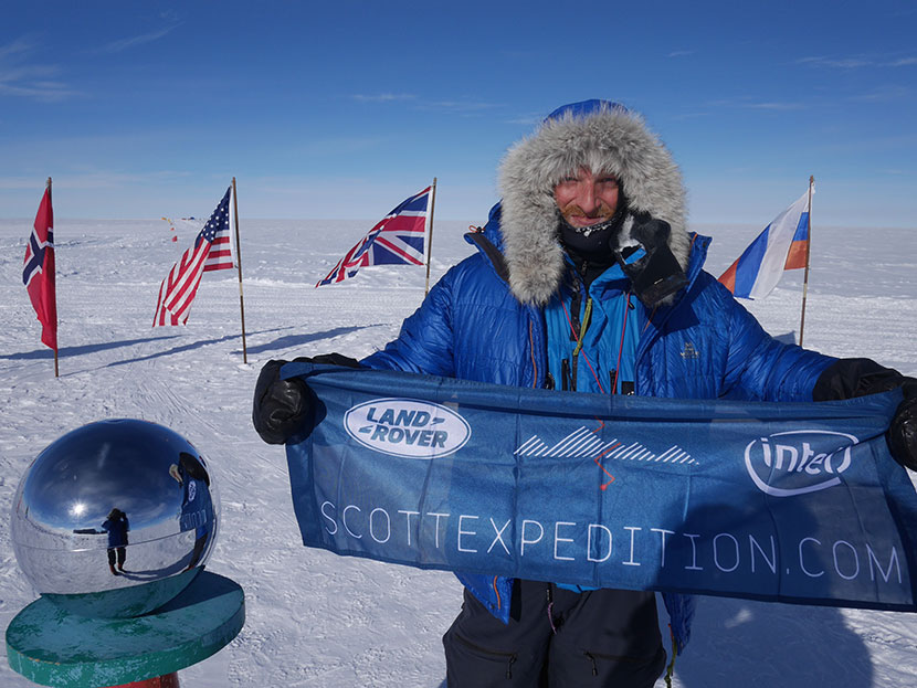 South Pole explorer