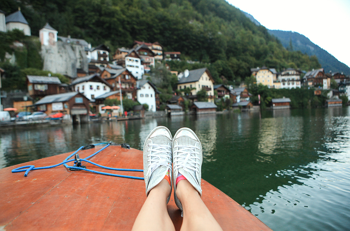 Lake cruise in Austria