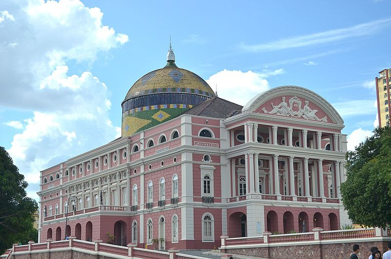 amazing opera house in Manaus